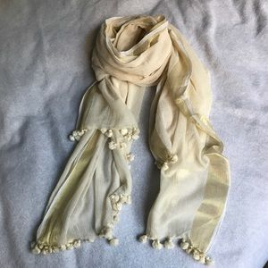 Accessories - Handspun fine wool wrap/scarf/sarong/stole! NWOT